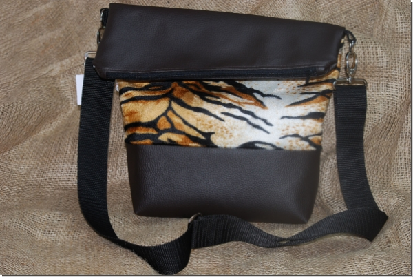 Tasche Fold Over Tiger